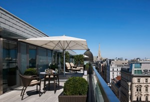 Terrace Presidential Suite - day view
